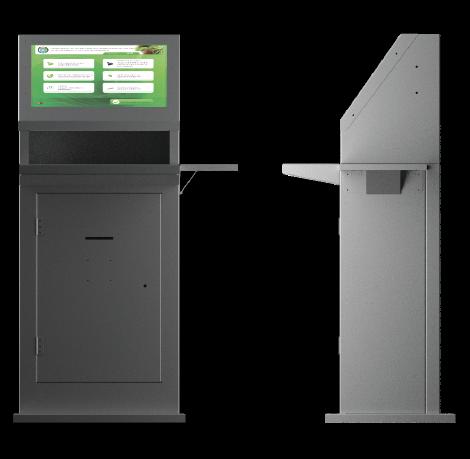 промышленный информационный терминал для заводов